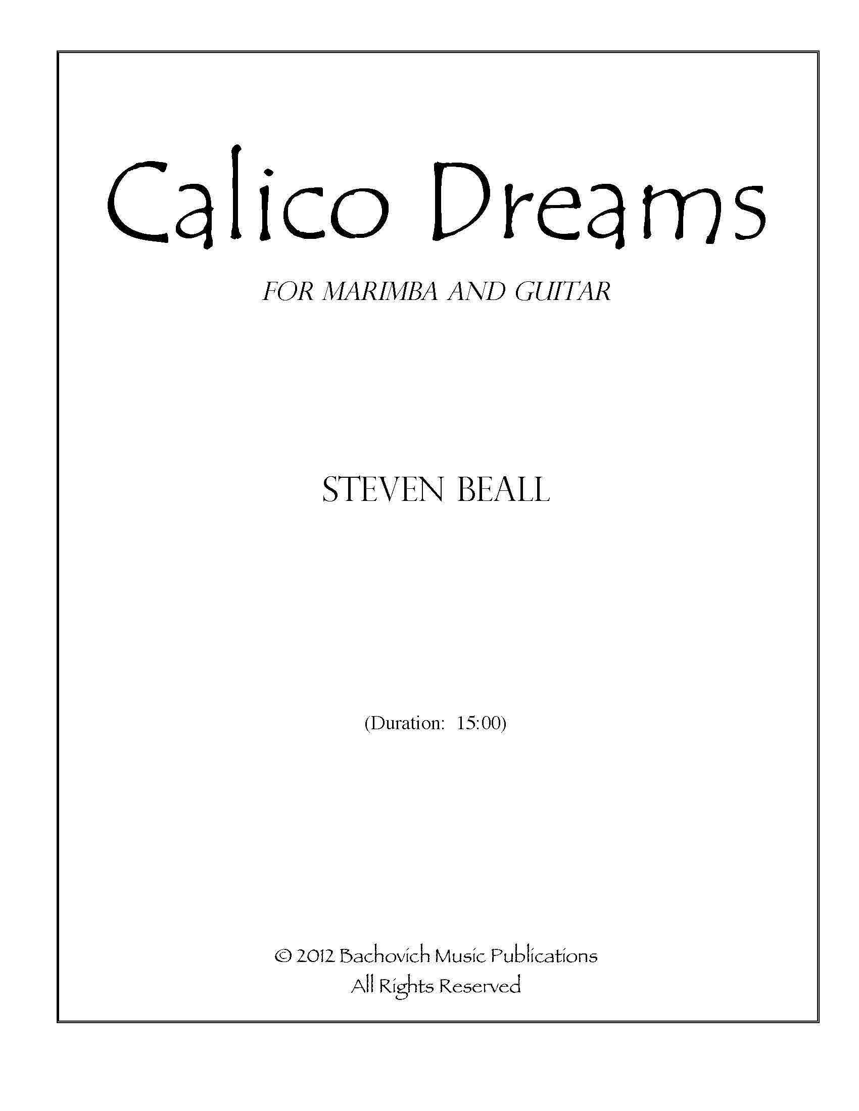 Bachovich Music Publications
